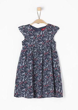 Millefleurs-Kleid aus Chiffon