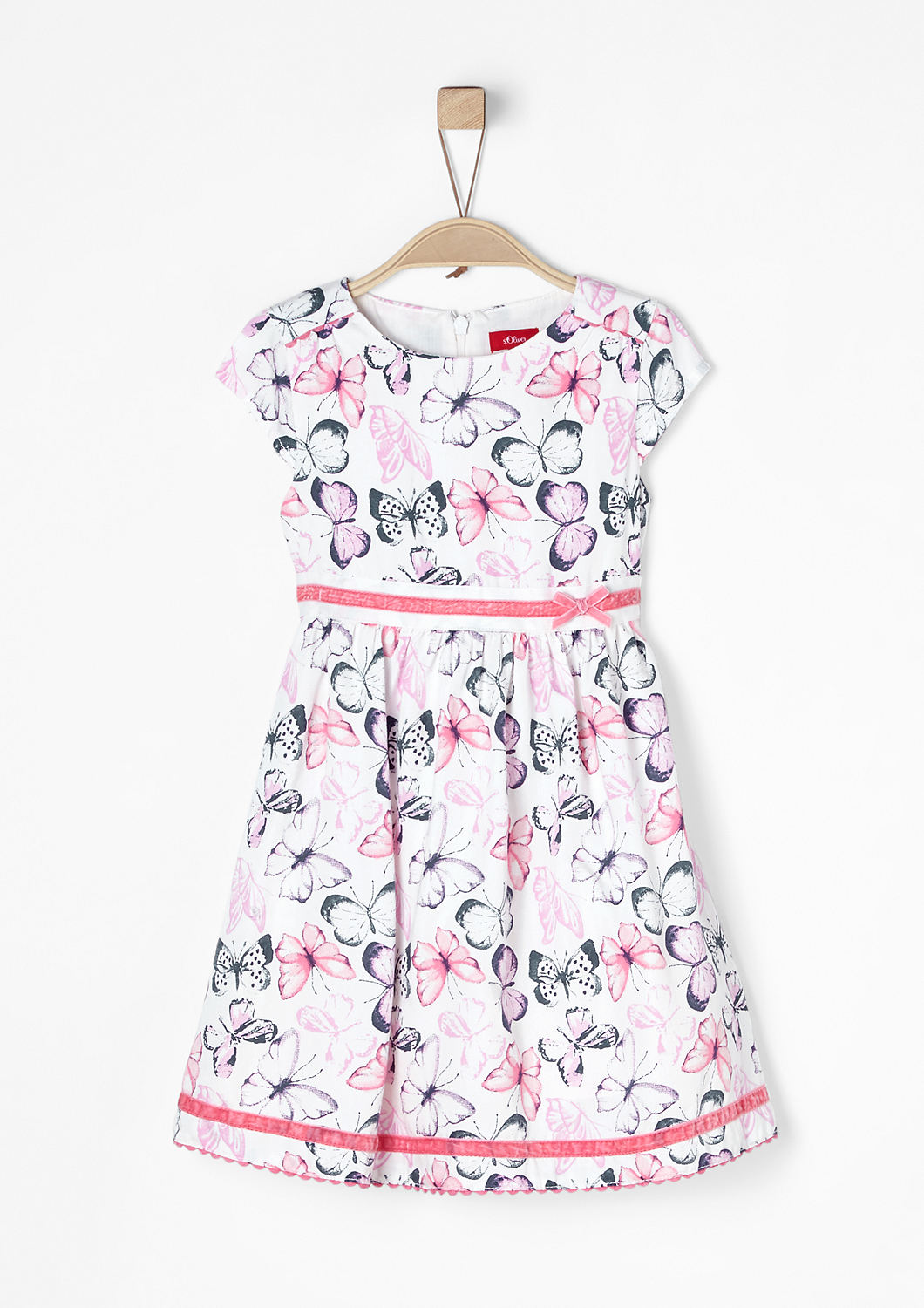 new arrival 5c6a1 c8f3b Buy Dress with a butterfly print   s.Oliver shop