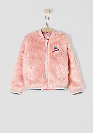 Blouson aus Fake Fur