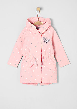 Parka with a print from s.Oliver