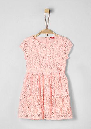 Elegante jurk van gebloemde kant
