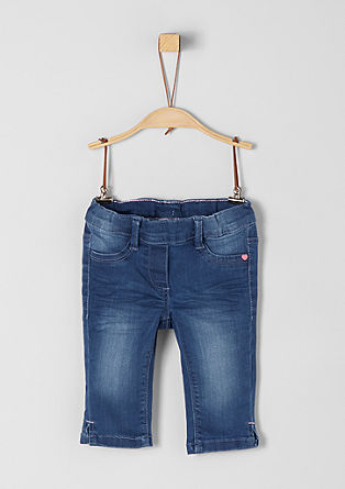 Treggings: denim capris from s.Oliver