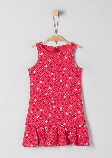 Kleid mit Millefleurs-Muster