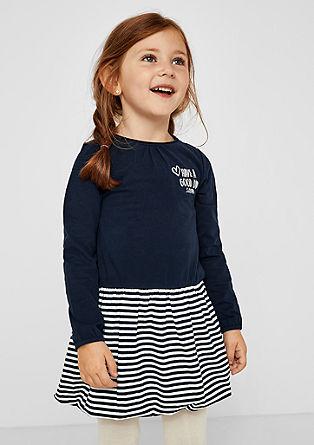 Jerseykleid mit Ballonrock
