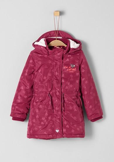 Manteau d'hiver animé de peluche de s.Oliver
