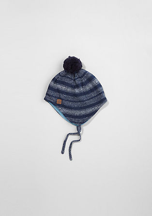 Hat with fleece lining from s.Oliver