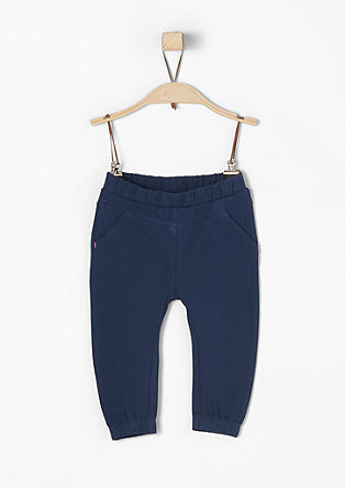Comfortable jersey trousers from s.Oliver