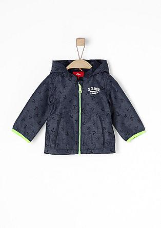 leichte Regenjacke mit Kapuze