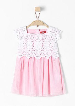 Zartes Tüll-Kleid mit Spitze