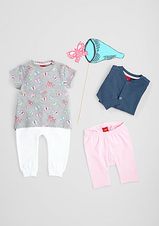 T-Shirt mit Butterfly-Muster