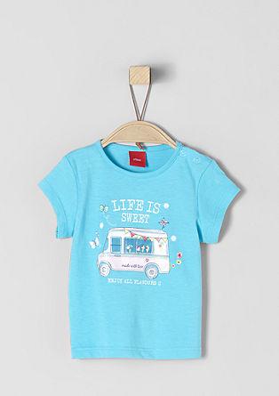 T-shirt met mooie print