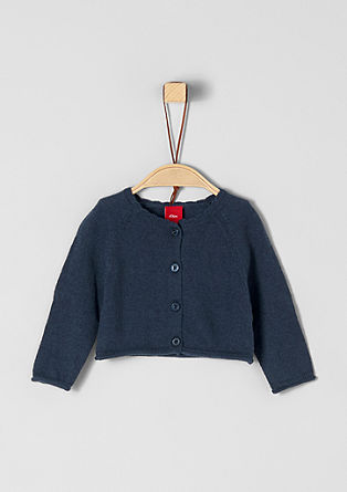 Short cardigan with raglan sleeves from s.Oliver