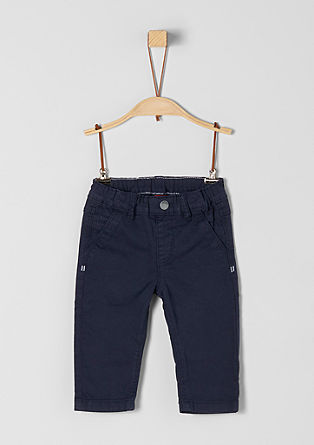 Cotton trousers in a chino style from s.Oliver