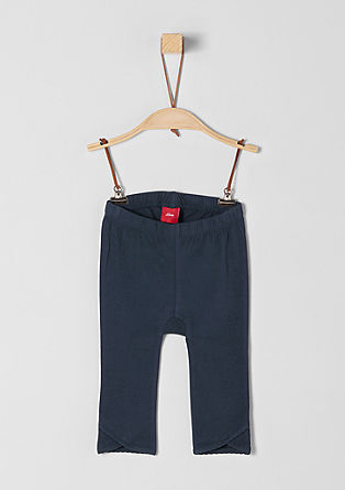 Minimalistische jersey legging