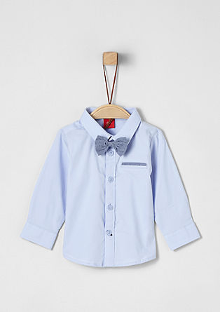 Chemise à nœud papillon amovible de s.Oliver
