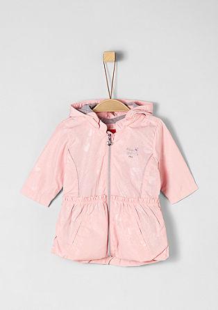 Lehký nylonový kabát se srdíčky