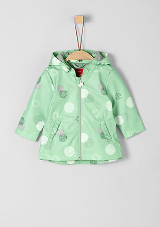Rain coat with a circle pattern from s.Oliver
