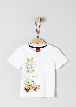 Jerseyshirt mit Beach-Print