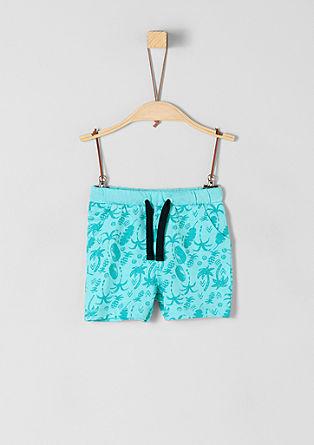 Bombažne hlače z vzorcem
