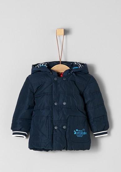 Veste d'hiver à bordures rayées de s.Oliver