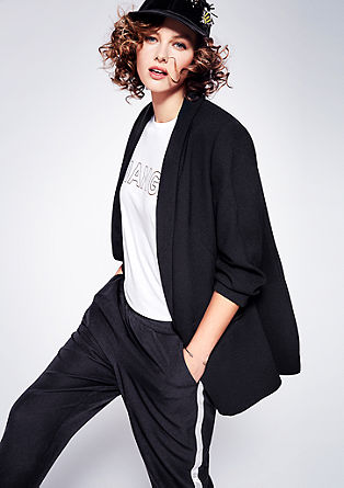 Fine trousers in a tracksuit style from s.Oliver