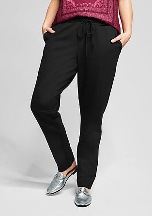 Jogging Pants aus Interlock