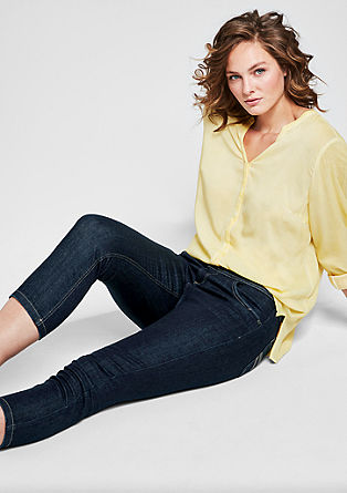Regular Extra Slim: Capri jeans from s.Oliver