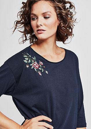 Jerseyshirt mit Artwork-Stitching