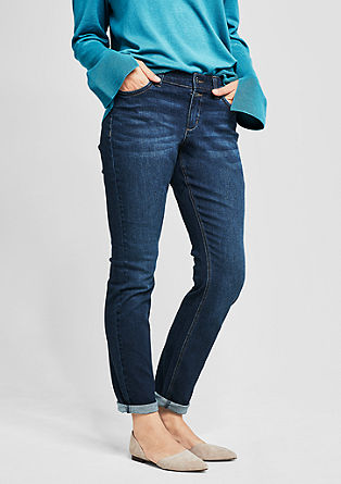 Regular Slim: Dunkle Denim