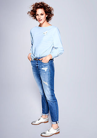 Fancy Boyfriend: Distressed jeans from s.Oliver