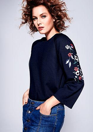 Jerseyshirt mit Embroidery