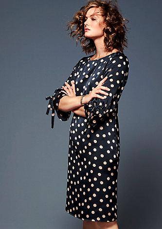 Kleid mit Polka-Dots