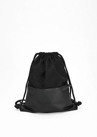 Rucksack in a material mix from s.Oliver