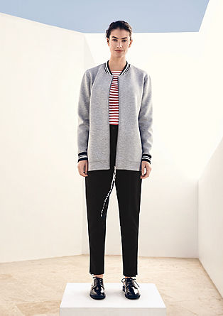 Straight cut pencil trousers from s.Oliver