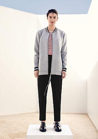 Rovně střižené tužkové kalhoty