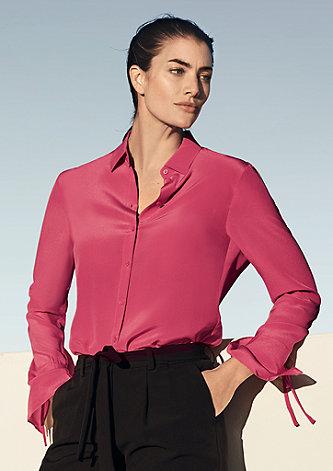 Bluse mit Bow-Details