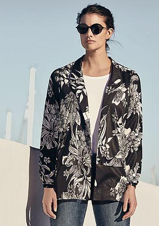 Blazer in kimonostijl