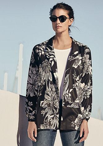 Blazerjacke im Kimono-Stil