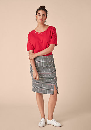 Top with decorative eyelets from s.Oliver
