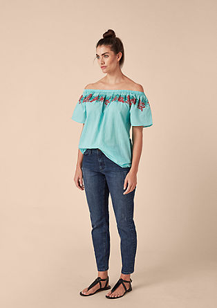 Fancy Boyfriend: jeans with distressed details from s.Oliver