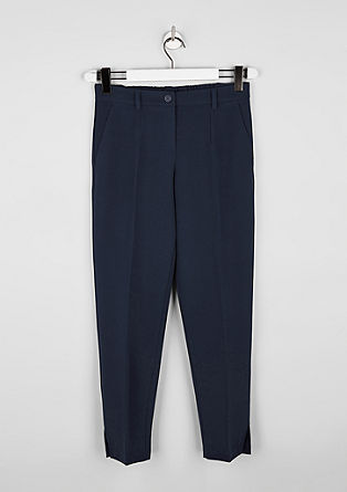 Slim-fitting pencil trousers with an elasticated waistband from s.Oliver
