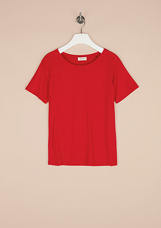 Comfortable jersey top from s.Oliver