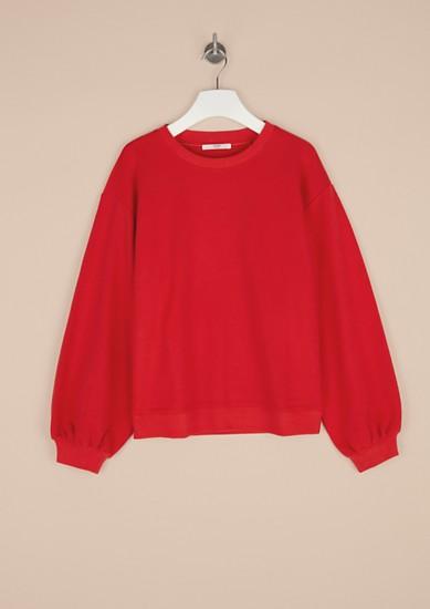 Comfortabel sweatshirt met ballonmouwen