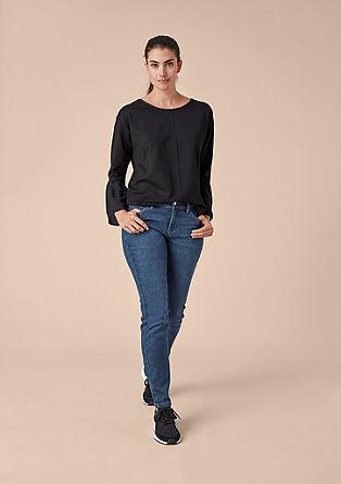 Curvy Extra Slim: raztegljive jeans hlače