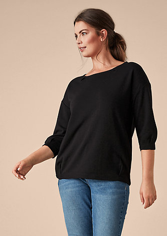 V-Shape-Shirt mit 3/4-Arm