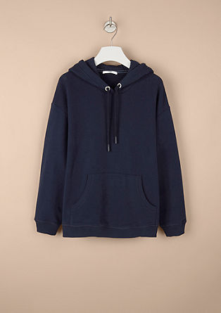 Casual sweatshirt met capuchon