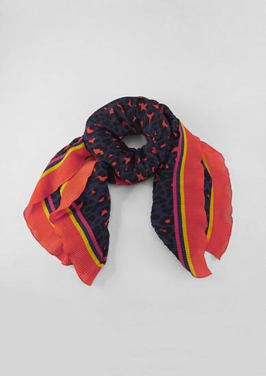 Sjaal met plissés
