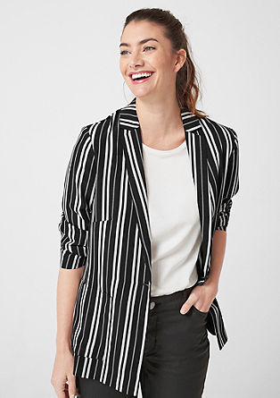 Striped blazer from s.Oliver