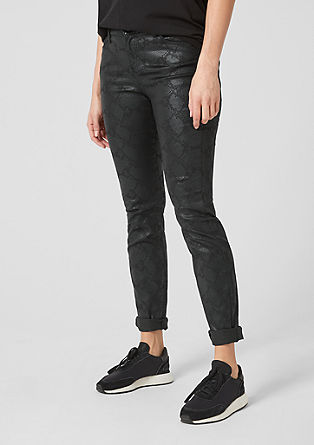 Curvy Extra Slim Leg: Stretch trousers from s.Oliver