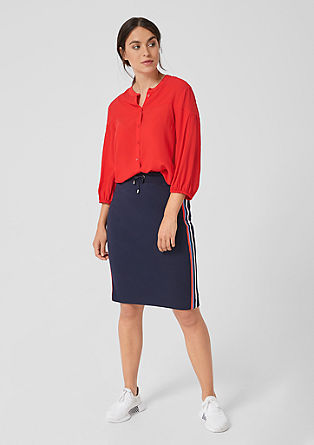 Blouse with 3/4-length sleeves from s.Oliver